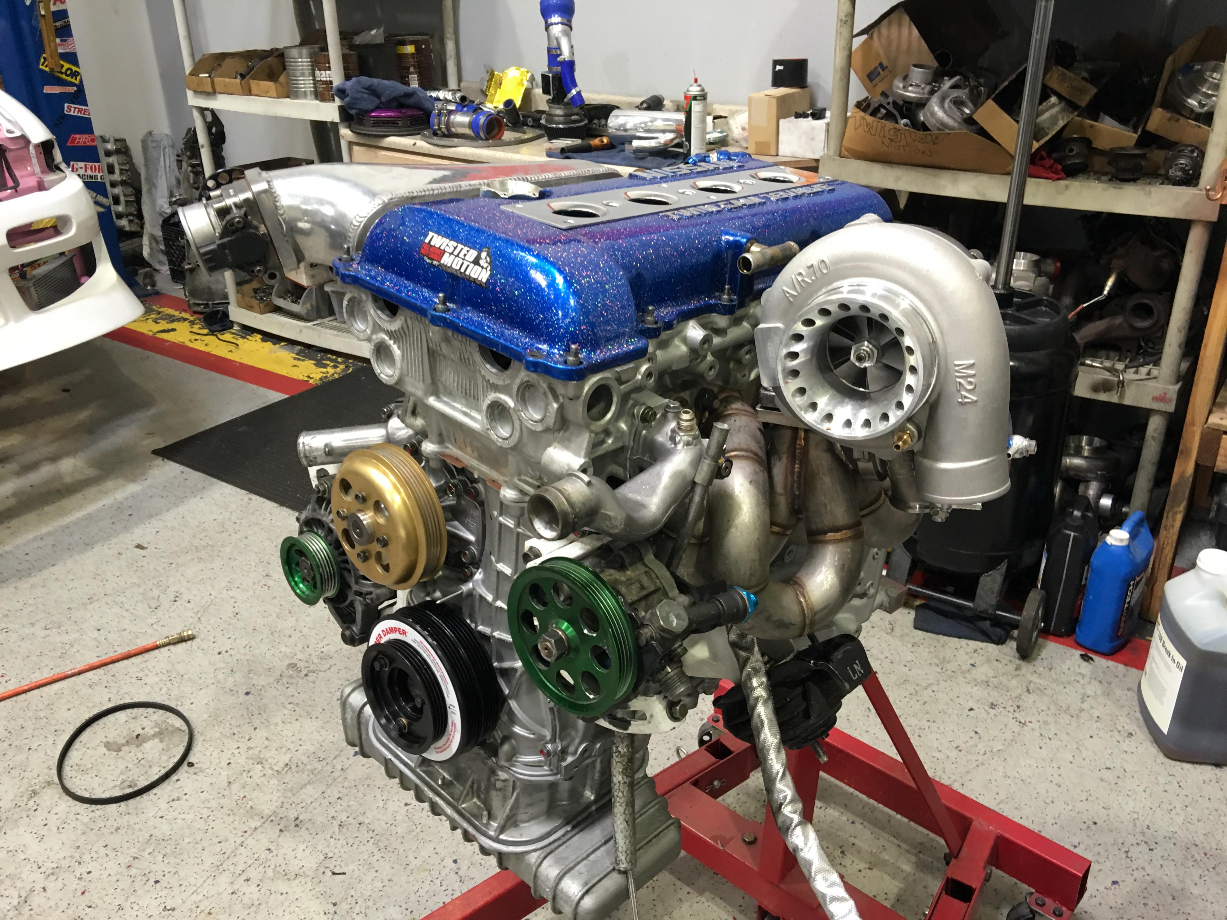 GT3582 V2 turbo   Twisted Motion Las Vegas